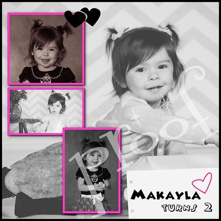 Makayla turns 2
