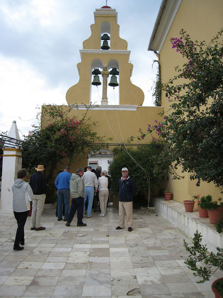 Corfu, Greece - Monstary of the Blessed Virgin Mary