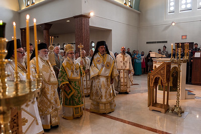 Exaltation of the Holy Cross Hierarchical Divine Liturgy