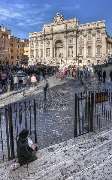Fontana di Trevi - Rome, Italy - November 6, 2010