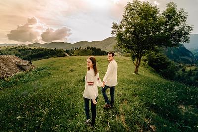 Andrei & Ana - Sedinta foto in Tara Barsei