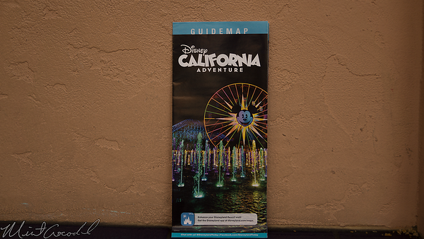 Disneyland Resort, Disney California Adventure, Guide Map, Guide, Map, Twilight Zone Tower Of Terror, Tower Of Terror, Tower, Terror, Guardians Of The Galaxy, Guardians, Galaxy, Mission, Breakout