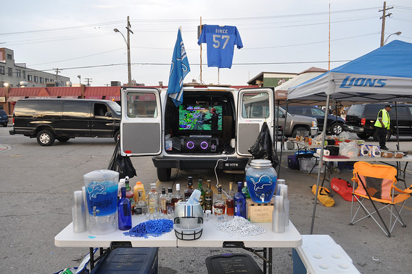 Lions tailgate 92913
