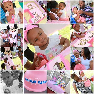 AUBRII'S 1ST BIRTHDAY PARTY 08.01.15
