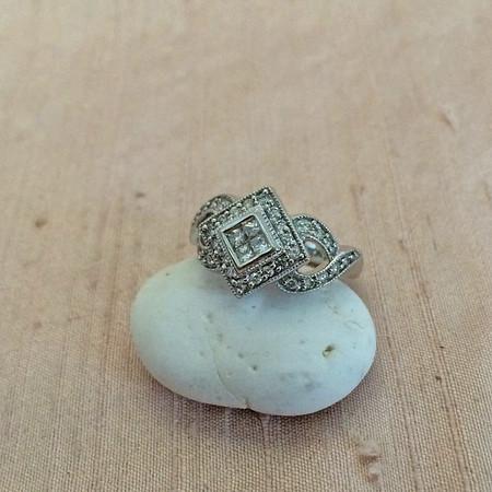 .50tcw Princess & Round Brilliant Diamond Fancy Ring