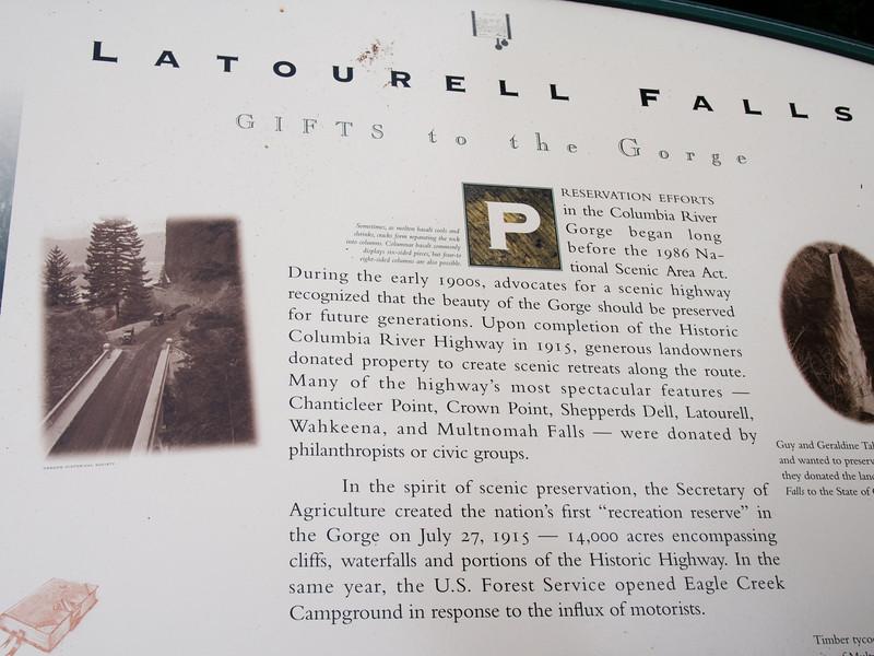 Latourell Falls, Columbia River Gorge, OR