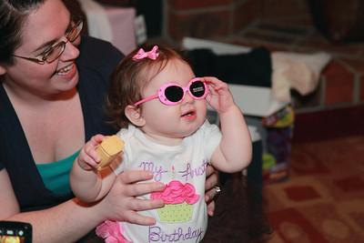 Livia's 1st Birthday 2-13-2011