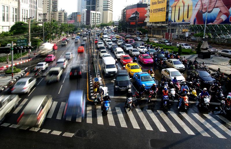 Traffic Bangkok.