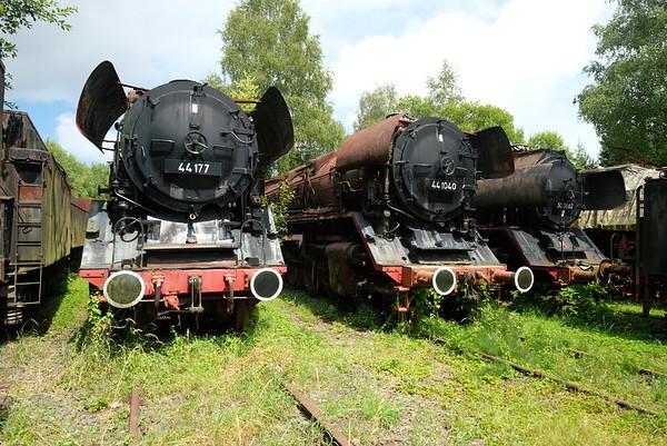 German Rail Museums