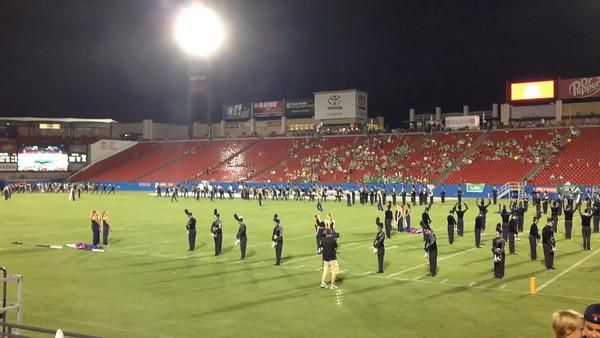 2014-15 Wakeland Marching Band