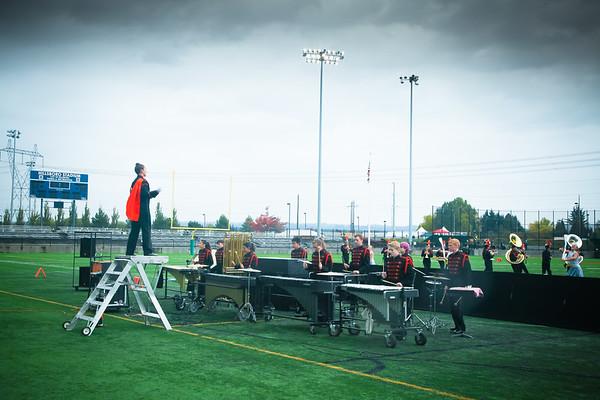 Hillsboro Stadium Marching Band Competition 2014