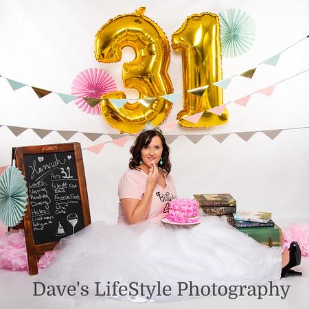 Hannah Parker Birthday Pics