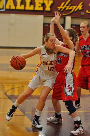 CV vs. South Albany Girls High School Basketball