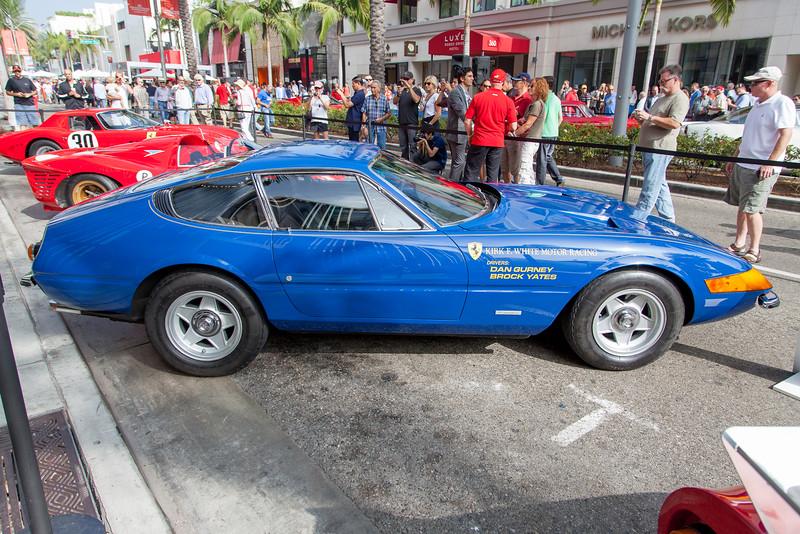 1971 Ferrari GTB/4 Daytona - 14271, 1971 Cannonball winner