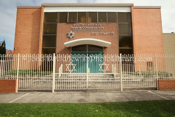 AUSTRALIA, Victoria, Melbourne. South Caulfield Hebrew Congregation. (8.2010)