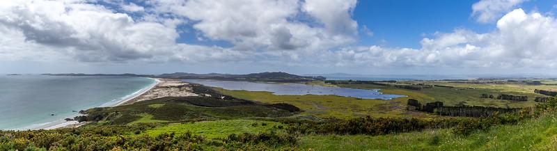 Panorama 1 vom Puheke Hill