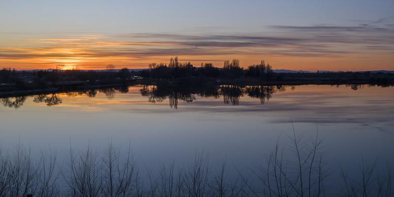 Moses Lake, WA Sunset