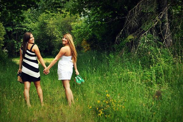 Caitlyn and Kayla