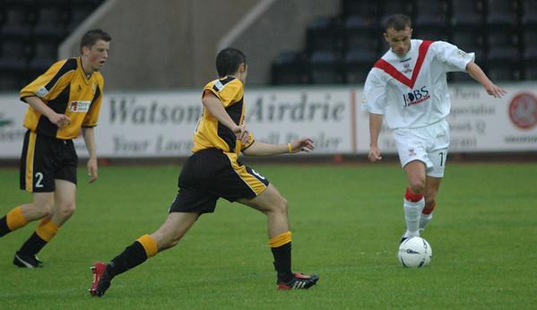 Airdrie United v East Fife (3.0) 10 8 04