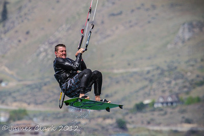 Kite Surfing Lake Chelan