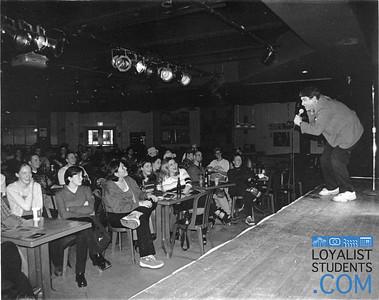 Comedian Steven Pearl
