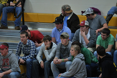 BASKETBALL FANS AND STUDENTS