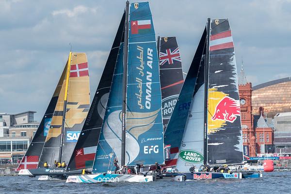Extreme Sailing Series Cardiff 2017