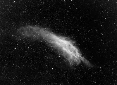 California Nebula NGC1499 (First Draft Data) 11-28-18