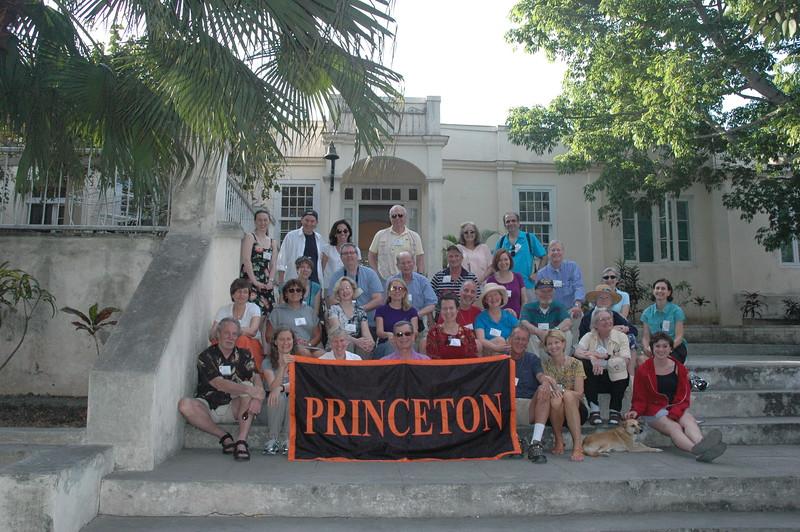 Princeton Group at Hemingway's Finca Vigia - Leslie Rowley
