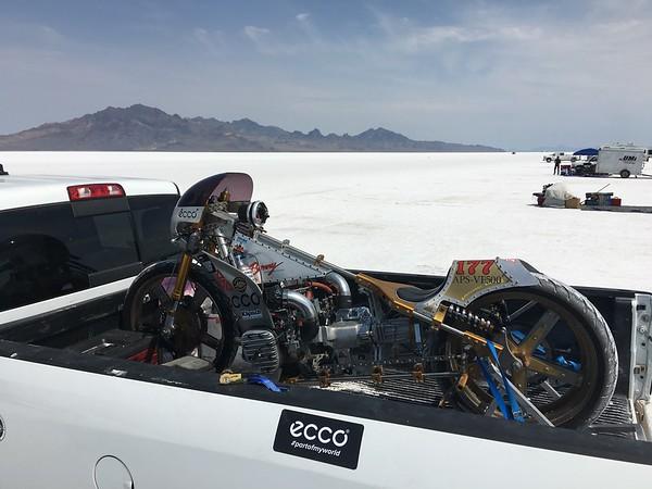 Bonneville Salt Flats Speed week 2016