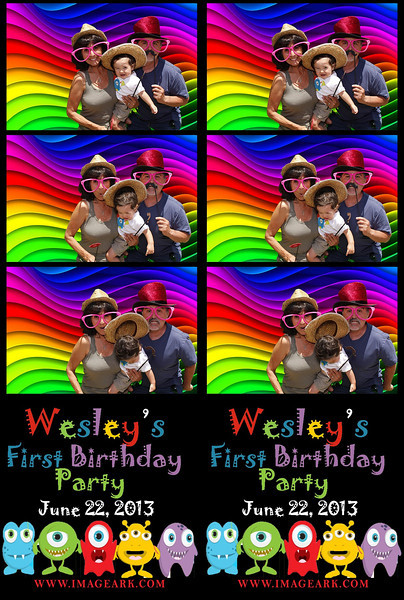 Wesley's 1st Birthday Prints