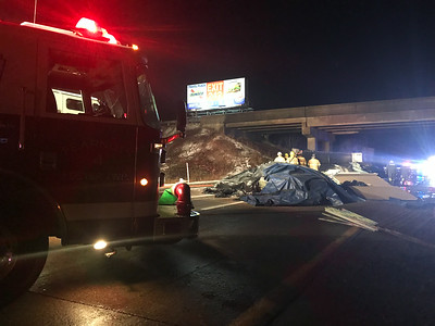 Interstate 80 Tractor Trailer Accident (1/8/2018)