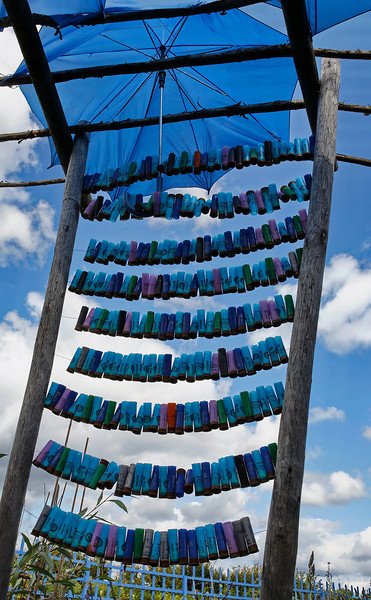 Festival des Jardins - Bleu