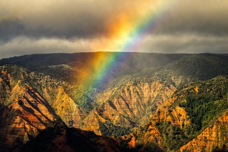 Waimea Canyon Rainbow