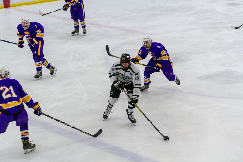 Holy Family Boys Junior Varsity Hockey vs. Cloquet - Collin Nawrocki/The Phoenix