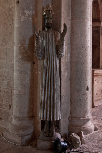 Le Thoronet Abbey Statue