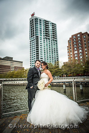 Wedding at the W Hotel - 225 River Street, Hoboken, NJ By Alex Kaplan Photo - Video - Photo www.AlexKaplanWeddings.com