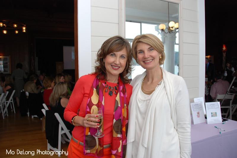 Barbara Gobar and Judi Cooper