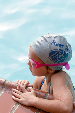 Natalie's 1st Swim Meet - Potomac