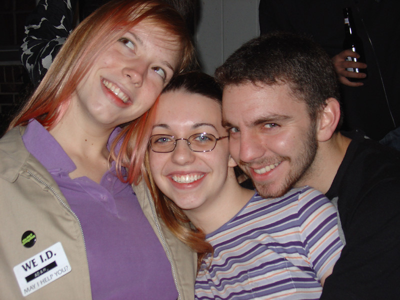 Meg, Meej, and Andy in a great picture (We ID, may I help you?)