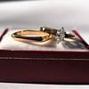 0.36ct Vintage Marquise Wedding Set 44