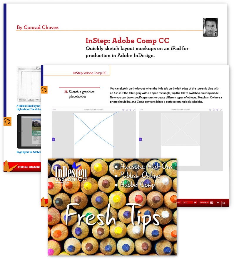 Read my overview of Adobe Comp CC in InDesign Magazine
