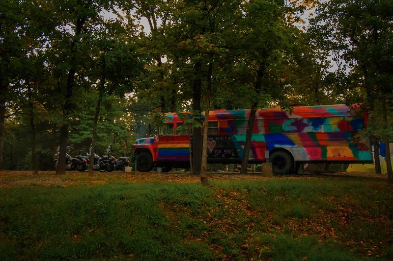 9.28.18 - Prairie Creek State Park: Magic Bus.
