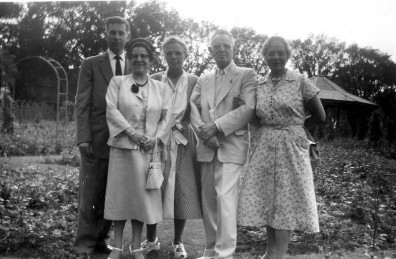 Peter Barby, Marianne Seifert, Charlotte Seifert, Erich Seifert, and Anastasia Barby.
