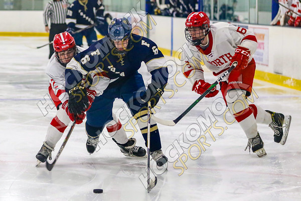 North Attleboro-Foxboro Boys Hockey - 01-22-20