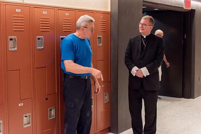 Bishop Barres Visits Kellenberg Summer Camps - July 16, 2021