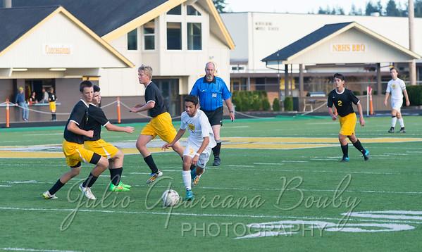 150918 NBHS Boys Soccer vs Philomath High School