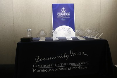 Commissioner Hall - Morehouse Medical College Reception