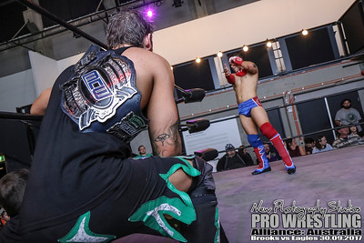PWA - Brooks vs Eagles 30.09.2017