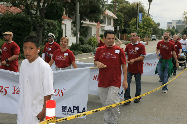 AIDS Walk Los AngelesSouthern California's largest AIDS fundraiser, AIDS Walk Los Angeles is a 10-kilometer walkathon to raise urgent funds for APLA and other AIDS service organizations.